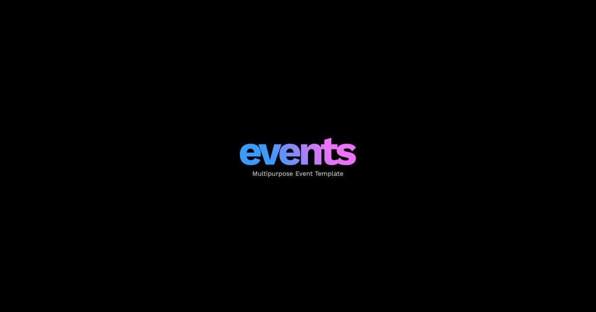 Download EVENTS - Multipurpose Conference Template by mutationthemes