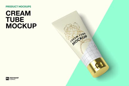 Cream Tube - Mockup