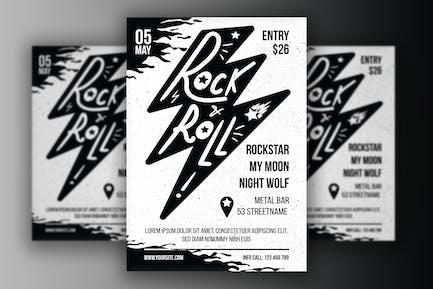 Poster Rock 'n' Roll