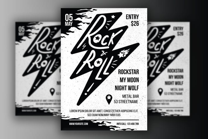 Thumbnail for Rock 'n' Roll Poster