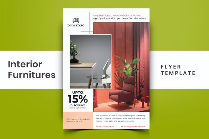 Thumbnail for Interior Furniture Flyer-03