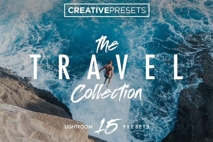 Cover Image For Travel Lightroom Presets Collection