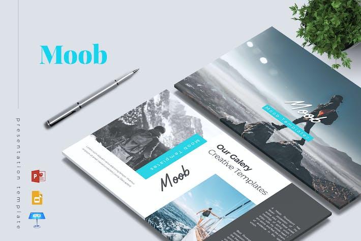 Thumbnail for MOOB - Creative Powerpoint/Google Slide/Keynote