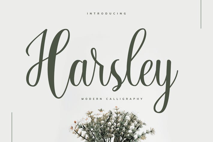 Thumbnail for Harsley Script