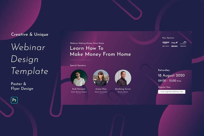 Creative Business Webinar Template Vol. 1 by TemeGUM on ...