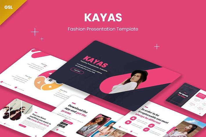 Thumbnail for Kayas Fashion GoogleSlides Template