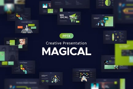Magical Creative Powerpoint Template