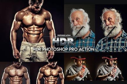 HDR Photoshop Pro Action
