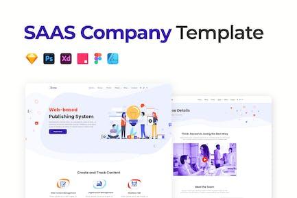 SAAS Company Template
