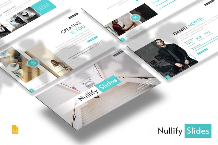 Thumbnail for Nullify - Business Google Slides Template