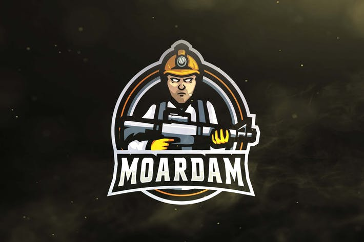 Cover Image For Miner Army Sport and Esports Logos