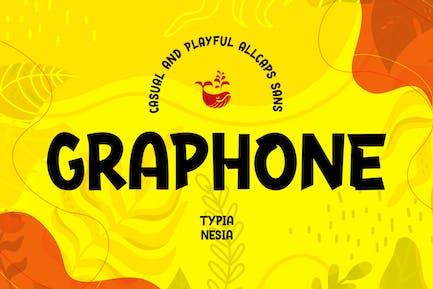 Graphone - Casual Allcaps Sans