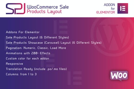 WooCommerce Sale Products Layout for Elementor