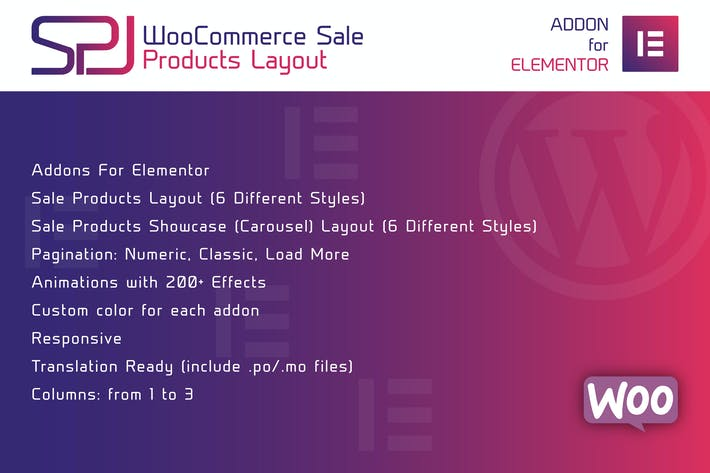Thumbnail for WooCommerce Sale Products Layout for Elementor