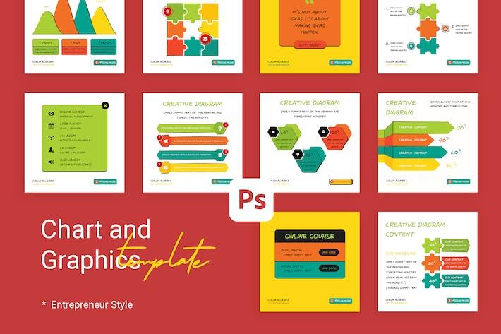 Thumbnail for Graphique et Graphique Instagram pour Entrepreneur & Busines