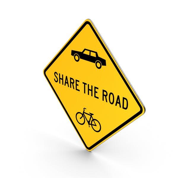 Teilen Sie das Straßenschild