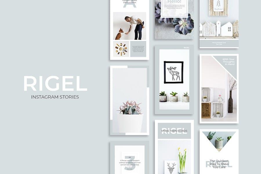 Rigel Instagram Stories