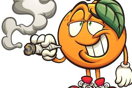 Naranja fumadores