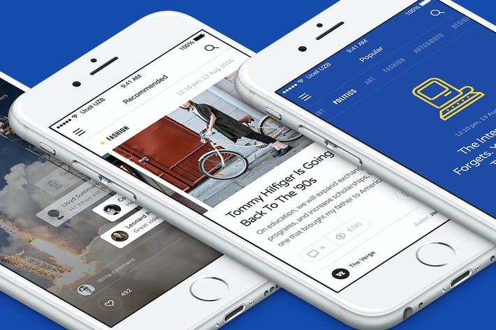 Cover Image For Aware Mobile UI/UX Kit