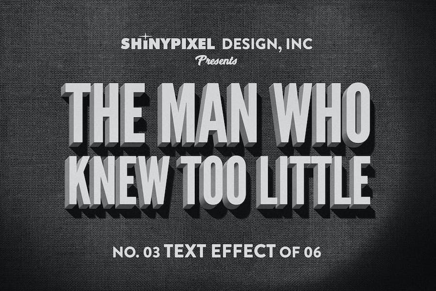 Old Movie Title - Text Effect n° 3 of 6