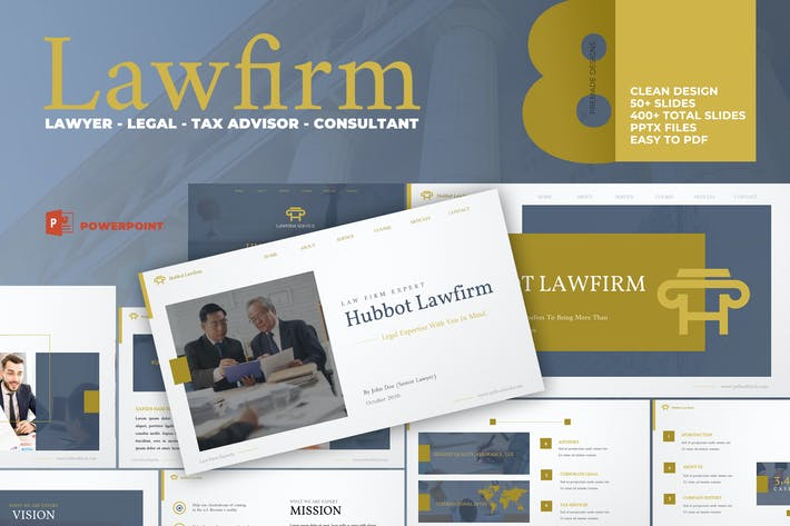 Thumbnail for Lawfirm Attorney Presentation