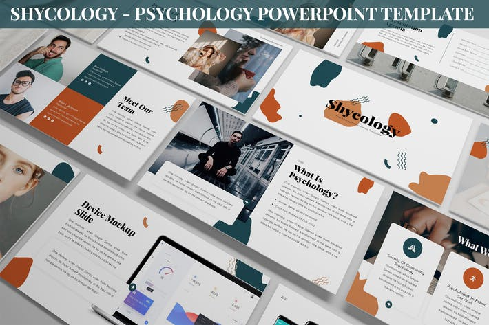 Thumbnail for Shycology - Psychology Powerpoint Template