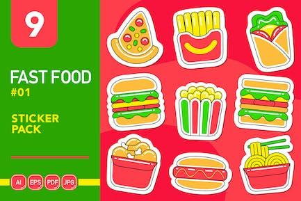 Fast Food #01 Sticker Pack