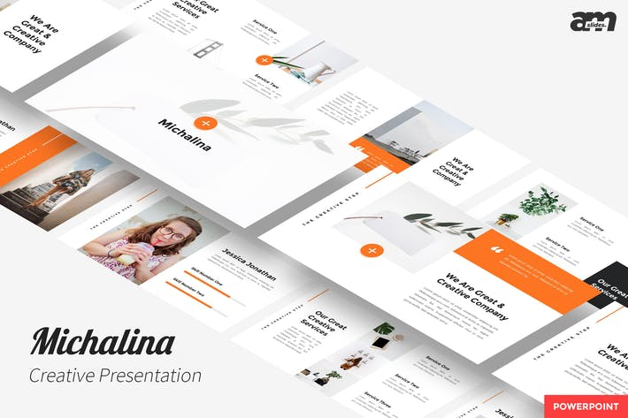 Thumbnail for Michalina - Creative Powerpoint Template
