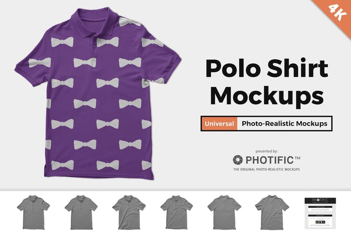 Thumbnail for Polo Shirt Mockups
