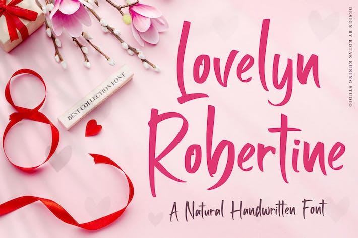 Thumbnail for Lovelyn Robertine - Fuente manuscrita