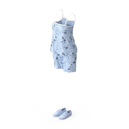 Women Sleeveless Pijama