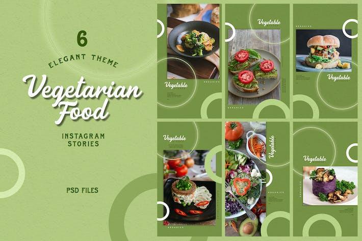 Thumbnail for Elegant Theme - Vegetarian Food Instagram Stories