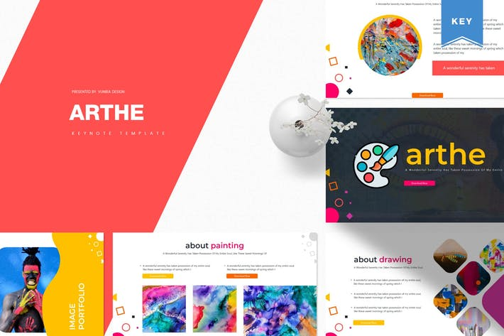 Thumbnail for Arthe | Keynote Template