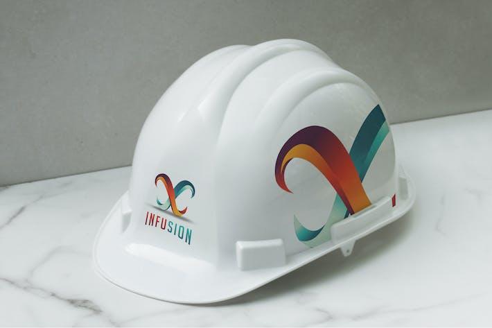 Thumbnail for Safety Helmet Mockup