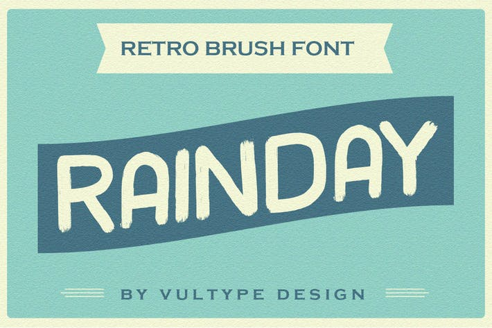 Fuente Rainday Vintage Retro