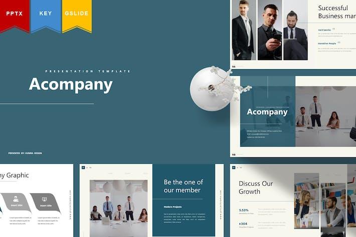 Thumbnail for Acompany - Powerpoint, Keynote, Googleslides