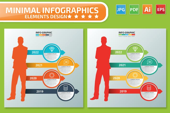 Thumbnail for Human Infographics design