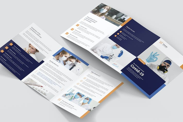 Brochure – Medical Business Tri-Fold A5