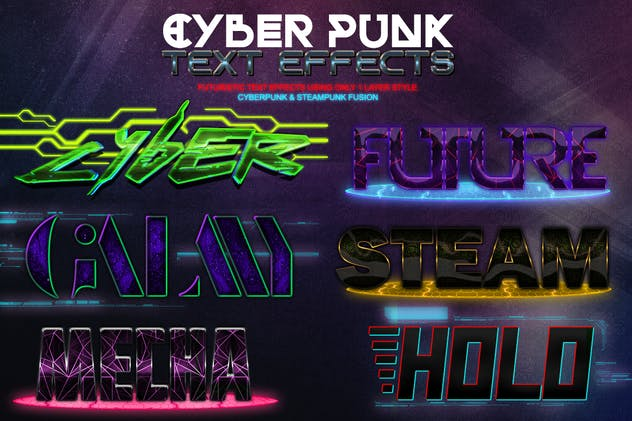 Cyber Punk Text Effects