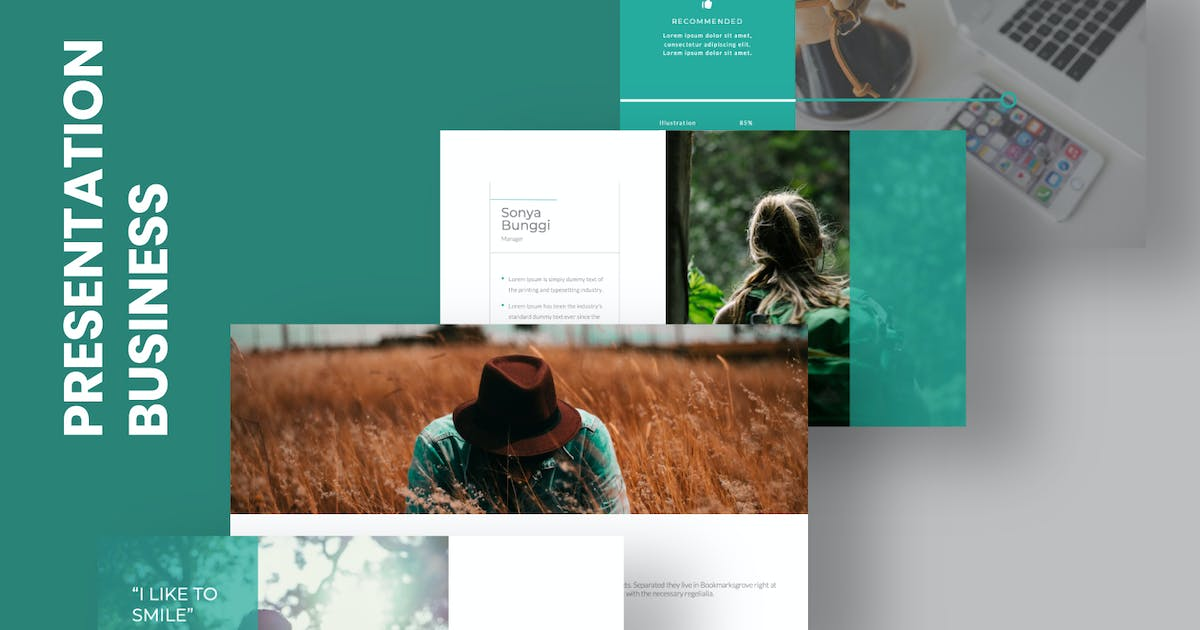 Download ALost Business Creative Powerpoint by templatehere