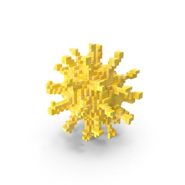 Коронавирус Voxel