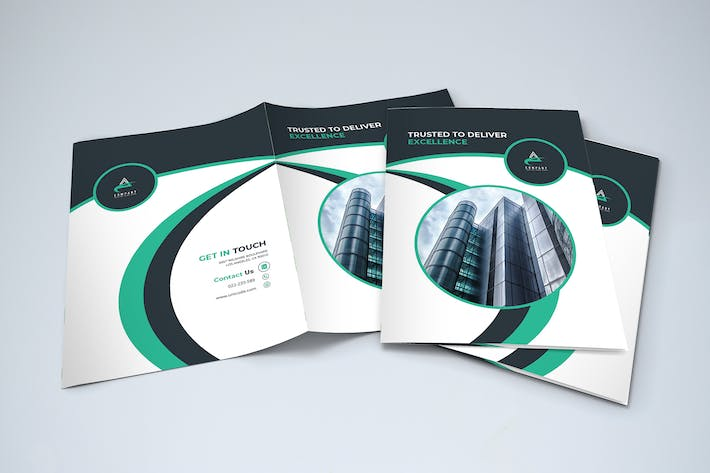 Cover Image For Bifold Modern Business Brochure