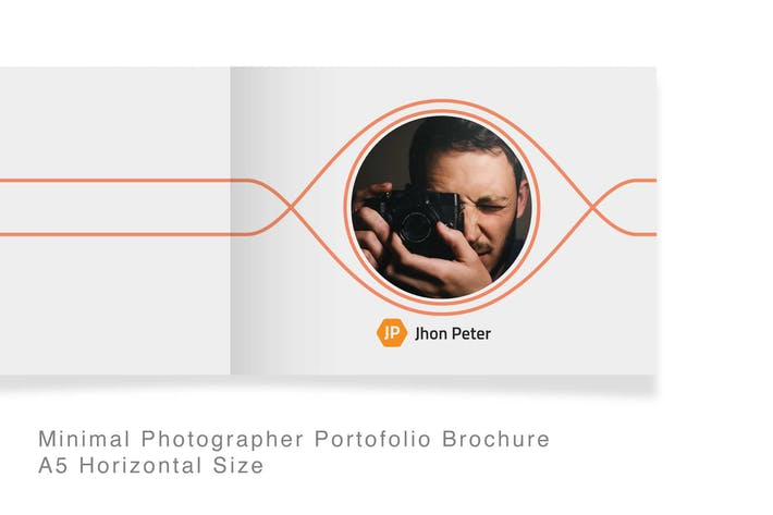Thumbnail for 22 Pages Minimal Photographer Portofolio Brochure