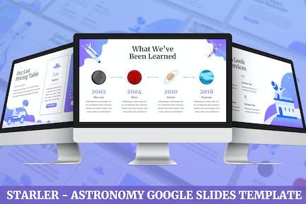 Starler - Astronomía Google Slides Plantilla