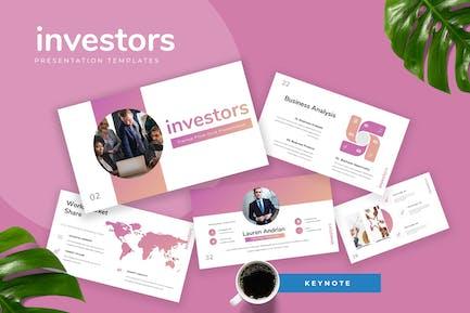 Investors - Startup  Keynote Presentation