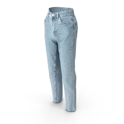 Damen Jeans Hellblau