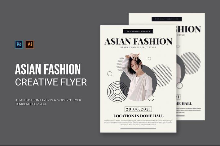 Asian Fashion - Flyer