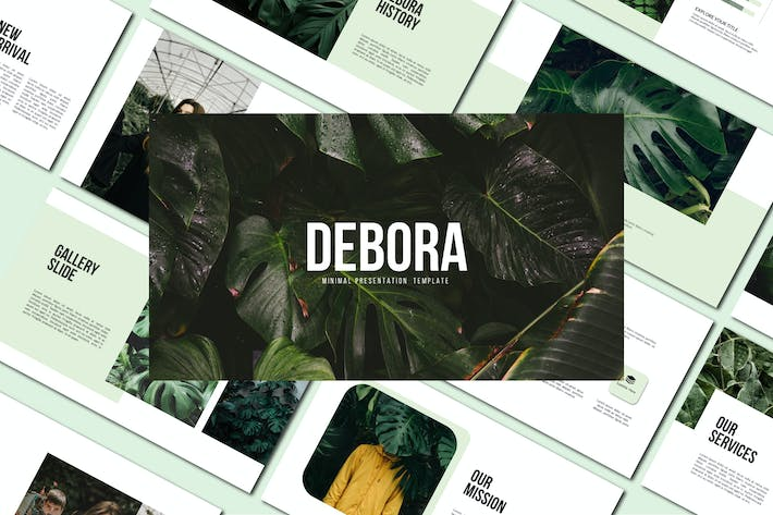 Thumbnail for Debora - Powerpoint Templates