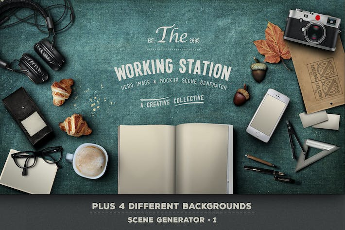 Cover Image For Working Station Hero Image