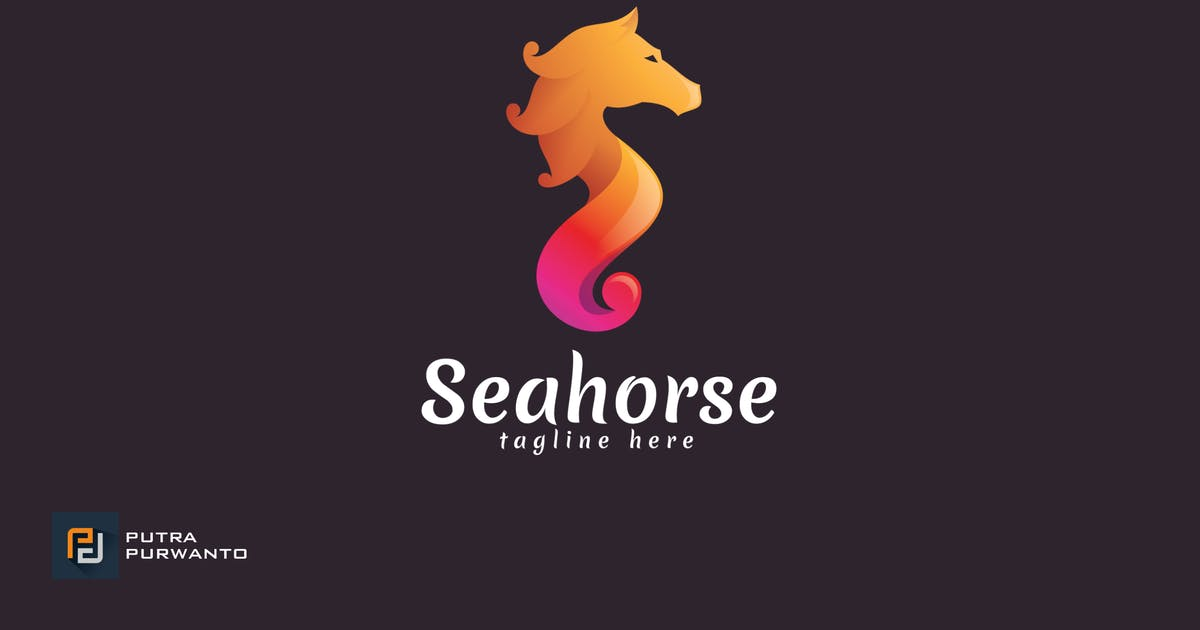 Download Seahorse - Logo Template by putra_purwanto